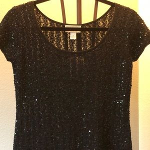 Talbots Sweaters - Talbots silk/cashmere beaded sweater, SP, NWT